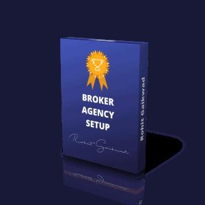 Broker Agency setup by Rohit Gaikwad