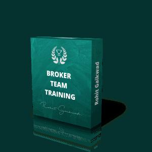 broker team training by Rohit Gaikwad