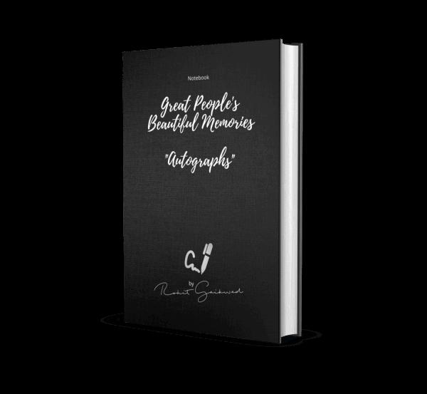 Autographs Notebook