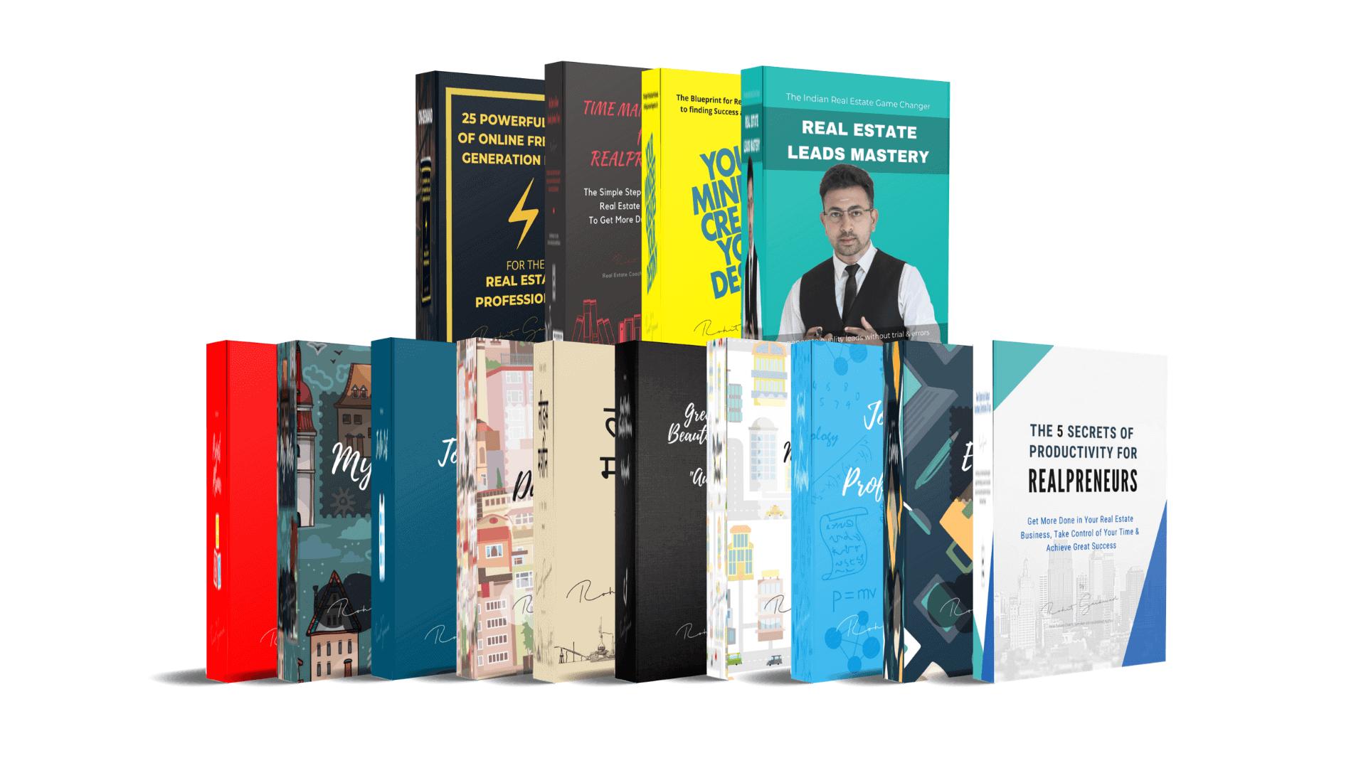 Rohit Gaikwad real estate books
